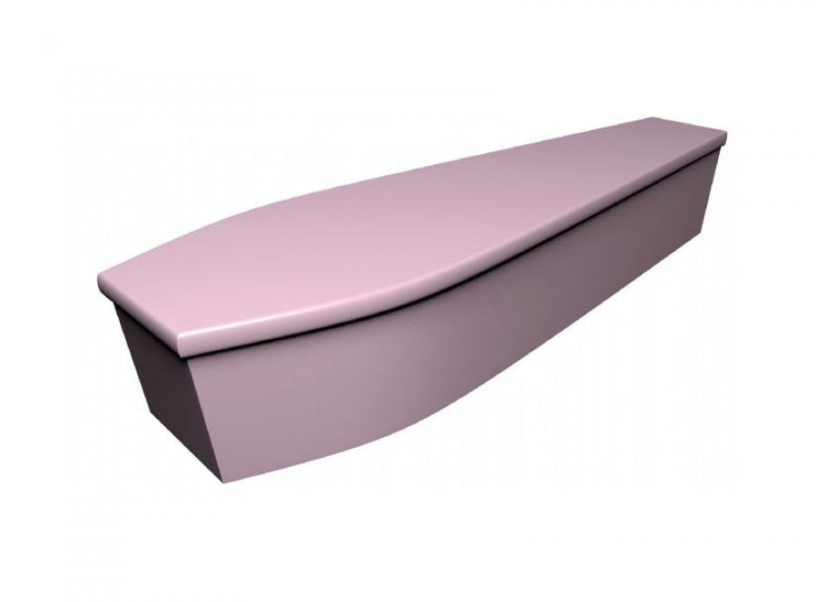 Wooden coffin - Pale pink (CR-20a) - 4054