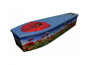 Wooden coffin - Poppy 1 - 4103
