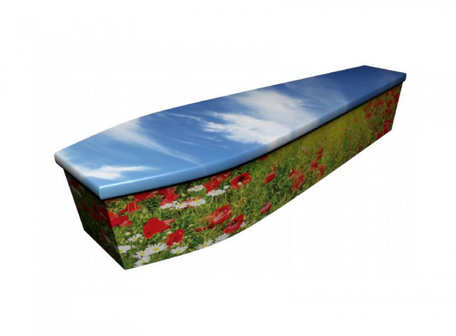 Wooden coffin - Poppy 2 - 4104
