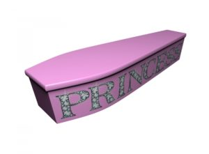 Wooden coffin - Princess - 4219