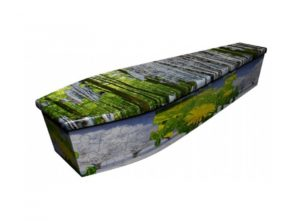 Wooden coffin - Puzzle Seasons - 4108