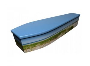 Wooden coffin - Sea view - 4114