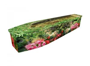 Wooden coffin - Secret Garden - 4279