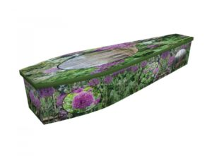 Wooden coffin - Serenity - 4282