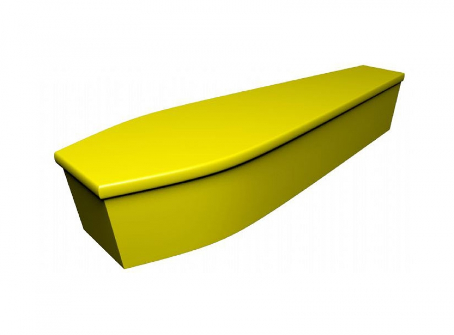 Wooden coffin - Yellow (CR-2) - 4062
