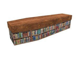 Cardboard coffin - Bookcase - 3547