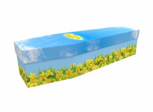 Cardboard coffin - Daffodil Fields - 3511