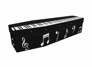Cardboard coffin - Piano - 3565