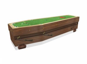 Cardboard coffin - Snooker - 3575