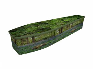 Wooden coffin - Bluebell Forest - 4292