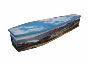 Wooden coffin - Lake District - 4287