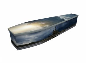 Wooden coffin - Submarine - 4305