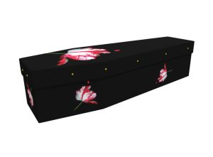 Twilight cardboard picture coffin